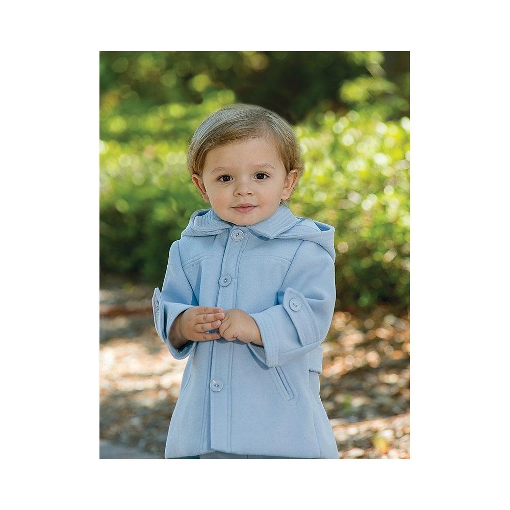 2c9512b1e6c6 Sarah-Louise-Boys-Pale-Blue-Wool-Coat-AW18