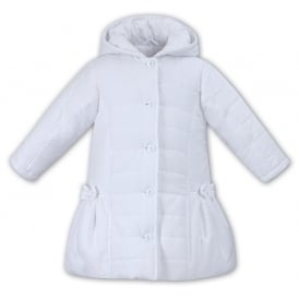 Dani Girls Long White Coat