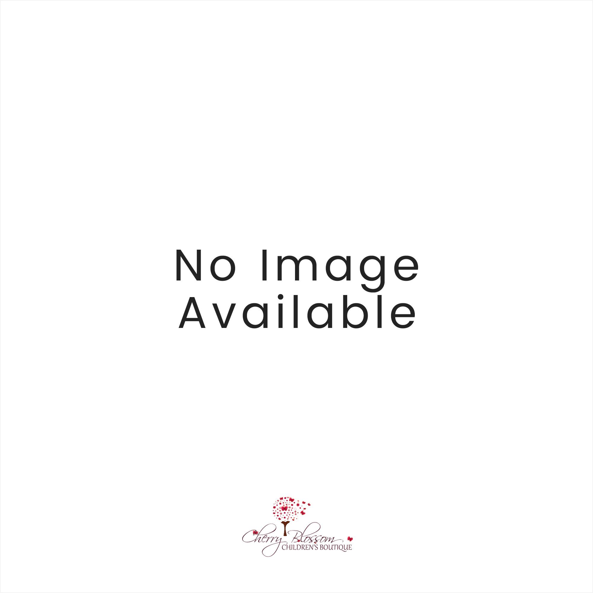Baby Boys Dandelion Fine Knit Bunny Romper Blue