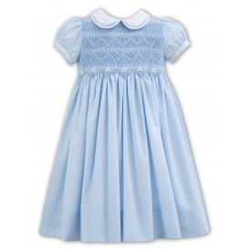 Girls Hand Smocked Daisy Dress 011107