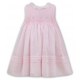 8fdcff0066080 Girls Hand Smocked Pale Pink Dress 011490 NEW SEASON. Sarah Louise ...