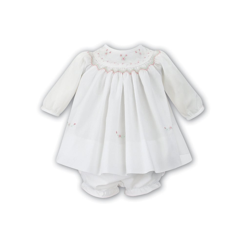 cf68f7a4c Sarah-Louise-Girls-Ivory-Dress-010856