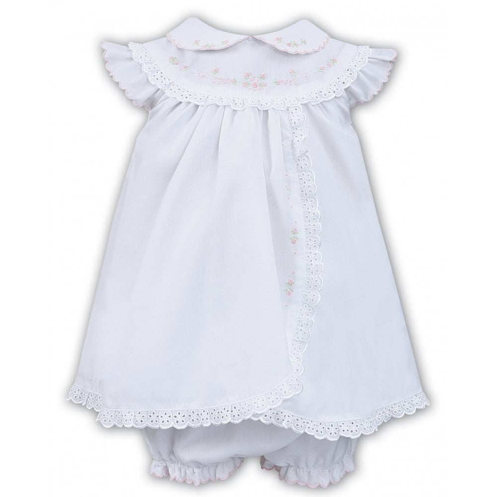 2c40f5288 Sarah-Louise-Girls-Lace-Trim-Dress-in-White-011457