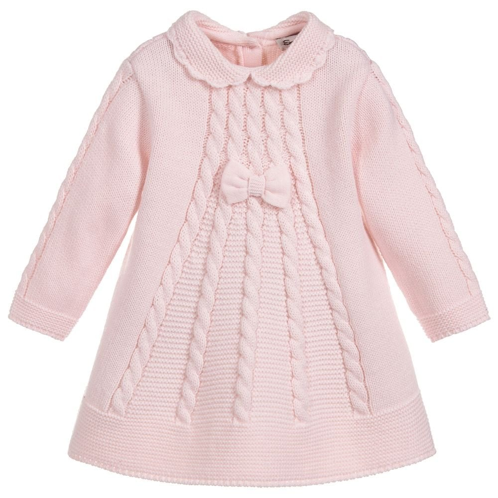 58a8226f193c Sarah-Louise-Girls-pink-Knitted-Dress-008056