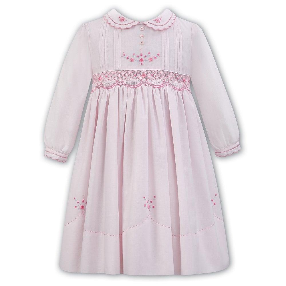 ea45b28814b4 Dani-Sarah-Louise-Girls-Pink-Smocked-Dress-011308