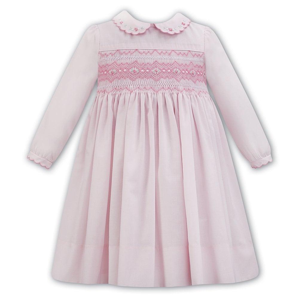 8e8be8b46 Dani-Sarah-Louise-Girls-Pink-Smocked-Dress-011309L