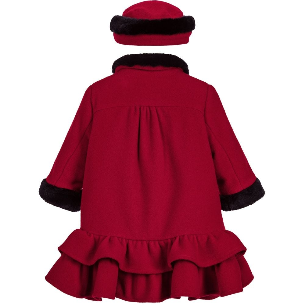 f925ed7d7bde Sarah-Louise-Girls-Red-Coat-and-Hat-011032