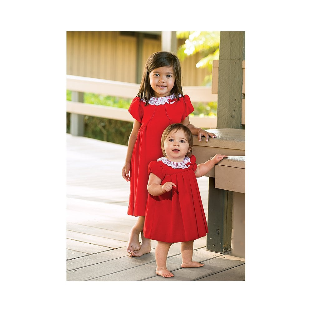 48234069f7e Sarah-Louise-Girls-Red-Dress-040000