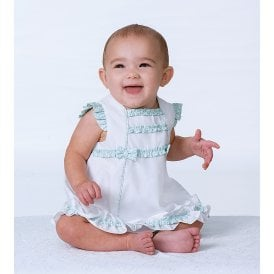 a5d50e650 Girls White and Mint Dress and Pants NEW SEASON. Sarah Louise ...