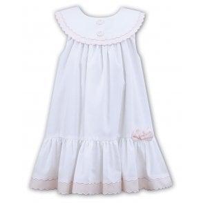 941522b15c36a Sarah-Louise-Girls-Pink-Detail-Smocked-Dress-011491