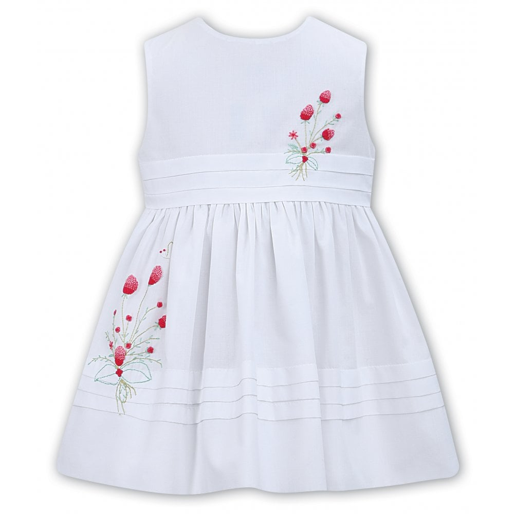 ecb411a10cdf Sarah-Louise-Girls-White-Hand-Embroidered-Dress-011500