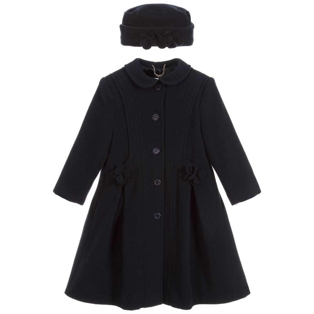 fcfde16e0 Sarah-Louise-Navy-Coat-and-Hat-Set-011430