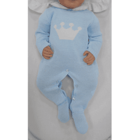 8b21470a2b429 Baby Boy Knitted All in One SALE