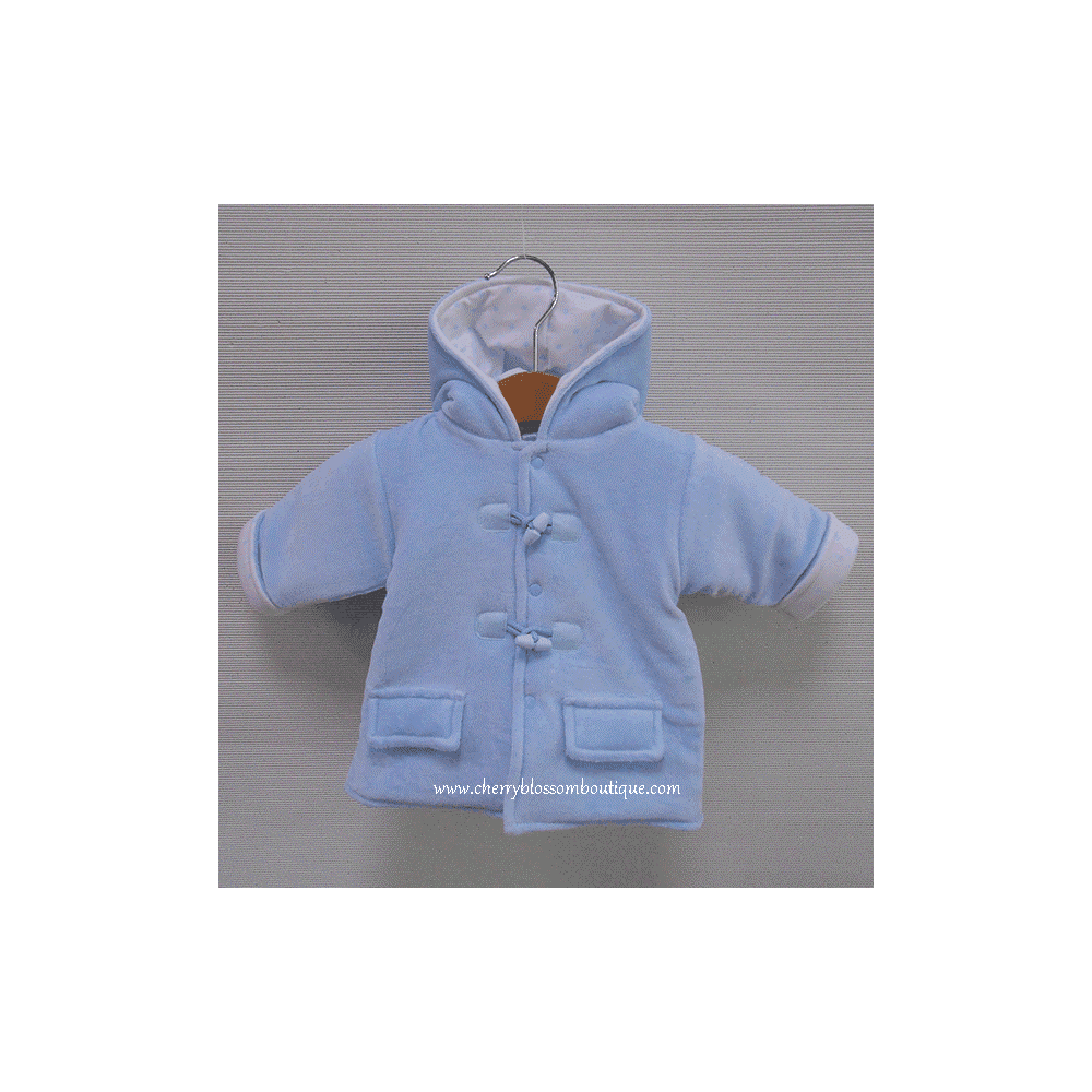 cb1a2c4d7592 Sardon-Baby-Boys-Pale-Blue-Fleece-Jacket