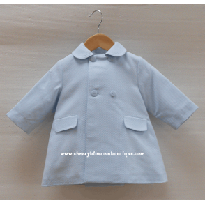 Baby Boy Traditional Light Blue Coat