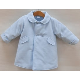 Baby Boy Traditional Pale Blue Coat