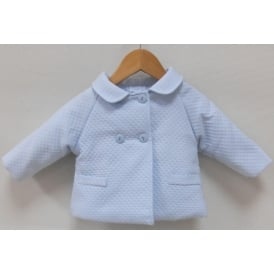 Baby Boy Traditional Pale Blue Jacket