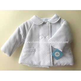 Baby Boy Traditional White Jacket