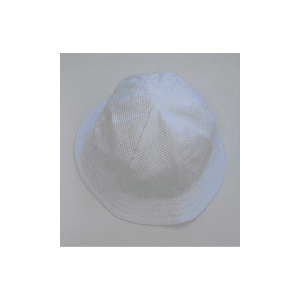 Baby Boy White Sun Hat
