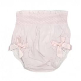 Baby Girl Pale Pink Jam Pants