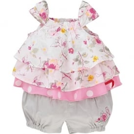 Baby Girl Belle Summer Shorts and Top